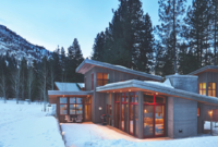 Cabin Achiever--Homes Most at Home in the Great Outdoors