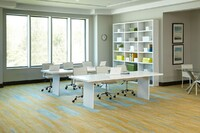 Six Dynamic Carpet Tiles for Offices