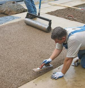 Learn about manufacturing and placing pervious concrete at Pervious Live.