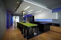 Modern Kitchen Draws Inspiration From Nightclub