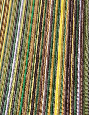 "Epingle Stripe, the new Paul Smithdesigned textile from Maharam, is suitable for seating upholstery applications. The fourth collaboration between the designer and the company, this fabric plays with warp, weft, and color to create a vivid and deeply textured surface that is available in five colorways. The material is made from 100% cotton, and comes in a single 50"" width. ¢ maharam.com"