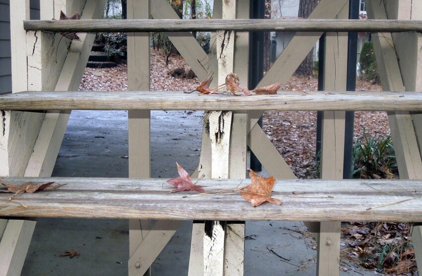Common Deck Stair Defects