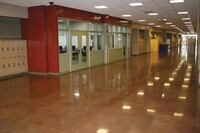 School District Chooses Polished Concrete