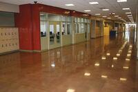 School District Chooses Polished Concrete