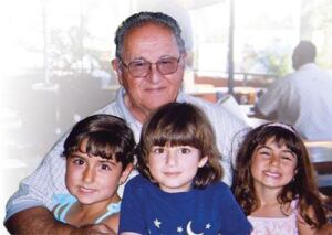Ben Solakian, Val-Pak Products founder/president, unexpectedly passed away in July after suffering a heart attack. He enjoyed spending time with his family, including his three grandchildren (L-R), Sophie, Ethan and Serene.