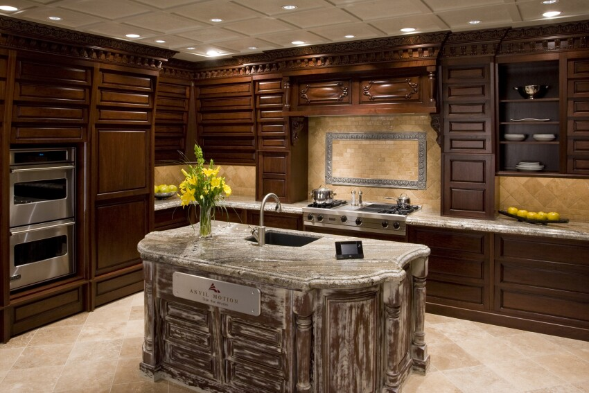 Kitchen Cabinets That Open With a Wave of a Homeowner's Hand