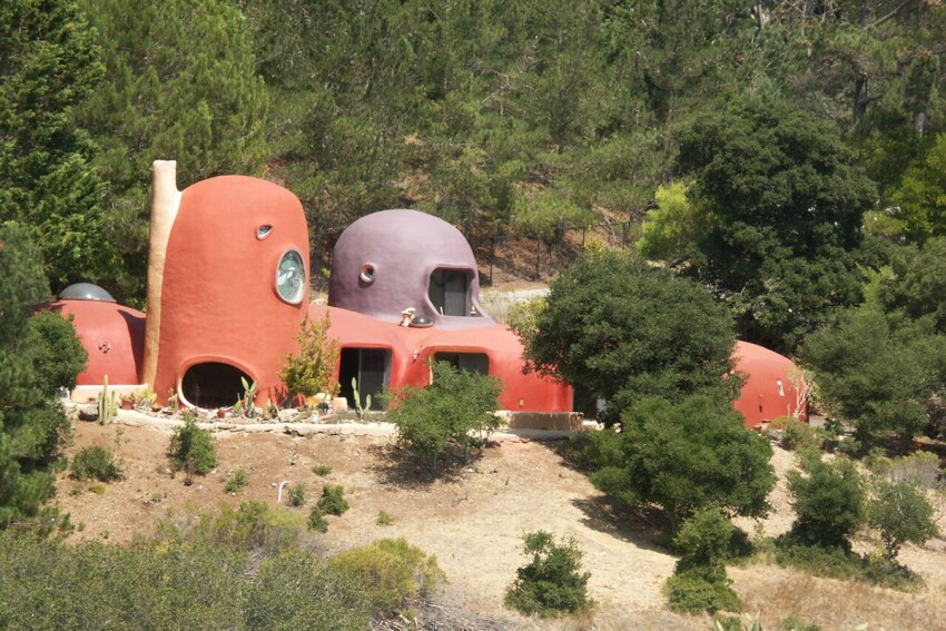 A Quirky Flintstone House Listed for $4.2 Million