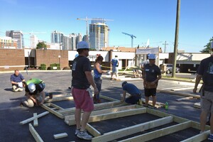 Ply Gem's Home for Good Project Makes Headway with Habitat for Humanity, Alan Jackson