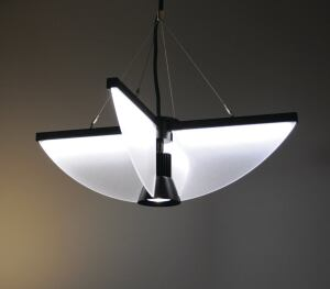 Planar Series Horizontal Core Pendant