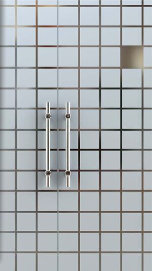 Eco-Etch doors Forms+Surfaceswww.forms-surfaces.com  Fire rating options include 3-hour, 90-minute, 45-minute, and 20-minute - Crafted from high-performance materials, including stainless steel - Photolithographic beadblasting system can create several standard designs or custom etching - Etching acids and harmful chemicals are not required - No toxic waste is generated