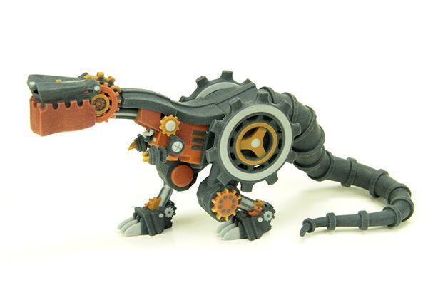 Last fall, WhiteClouds raised $12,955 on Kickstarter to fund the printing of a set of steampunk-inspired dinosaur replicas.