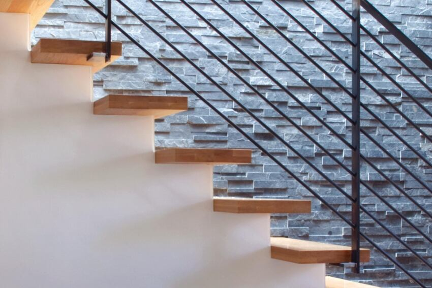 An Easier Way to Design Floating Stairs