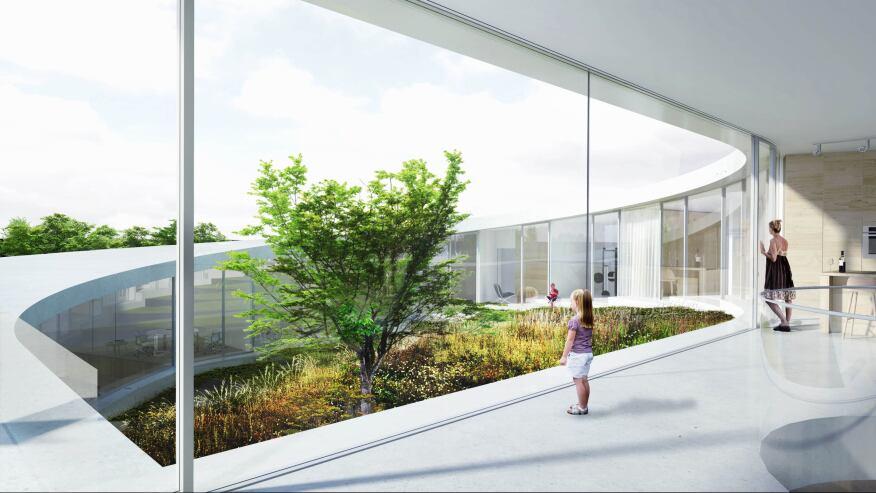 Villa GUG, Bjarke Ingels Group, Ålborg, Denmark