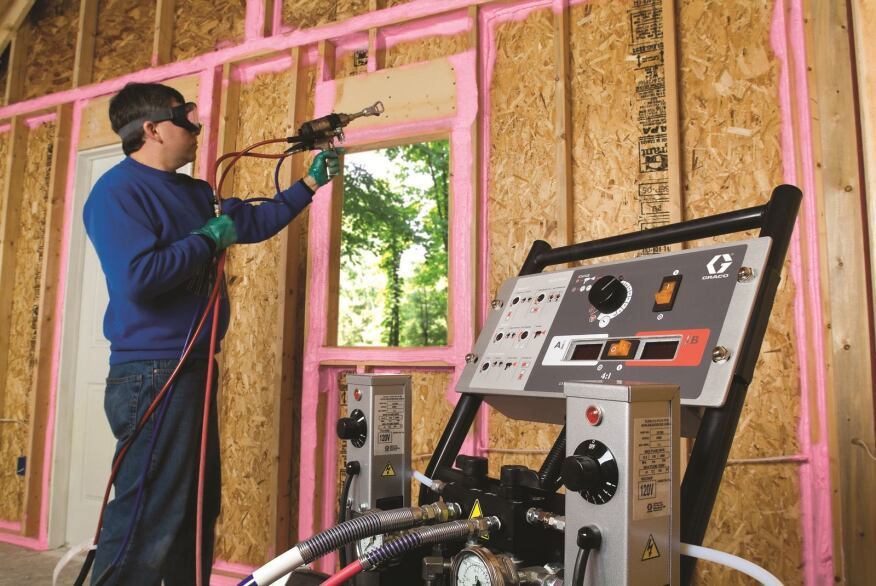 Air-sealing systems like this one from Owens Corning are invaluable for reducing infiltration and helping to cut down on utility bills, speakers at a recent International Builders' Show session said.
