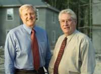 Bob Fleckenstein, left, and Maylon Boatwright, right, founded Summit in 1989, planning to run a small, local business. Fifteen years later, Summit has grown into a $263 million company with close to 200 employees. The founders are not only partners, but the best of friends.