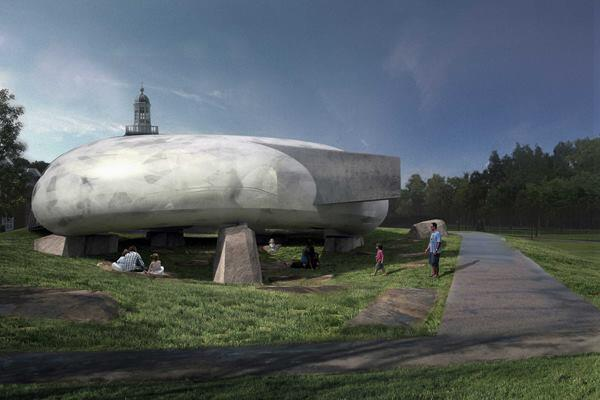 2014 Serpentine Gallery Pavilion - External indicative CGI