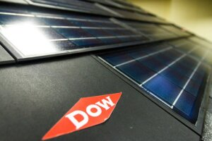 Dow will stop manufacturing its Powerhouse solar shingles, saying it and would rather license the technology to someone else.