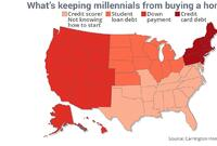 The Reason Millennials Aren't Buying Homes Varies Wildly Region by Region