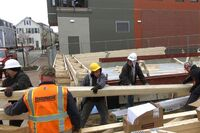 Structural Beams for a Cantilevered Balcony