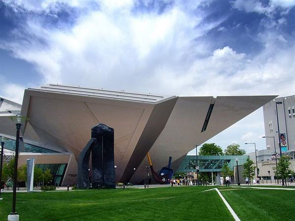 Denver Art Museum by Daniel Libeskind.