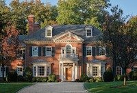 Brick Home Exudes Sophistication