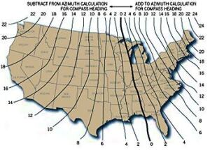 Design Designing With The Sun In Mind JLC Online Design - 2017 magnetic declination map of the us