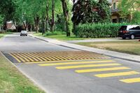 Traffic Logix Rubber Speed Tables