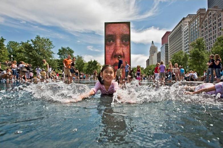 The City of Chicago Millennium Park in Chicago