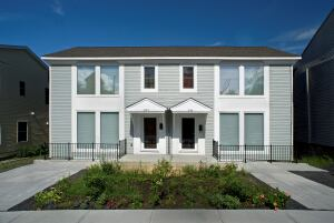 These Columbia County townhouses are the first Habitat for Humanity homes in New York state to achieve the rigorous Passive House standard.