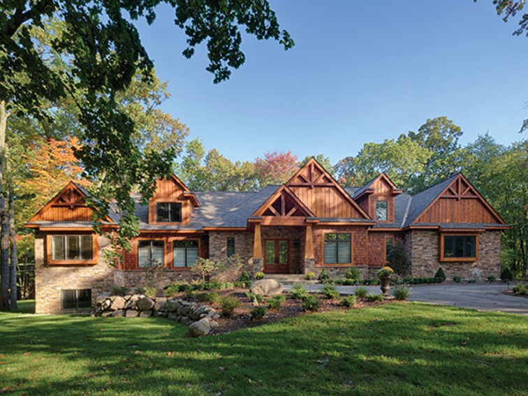 FourPlans: Upscale One-Story Homes