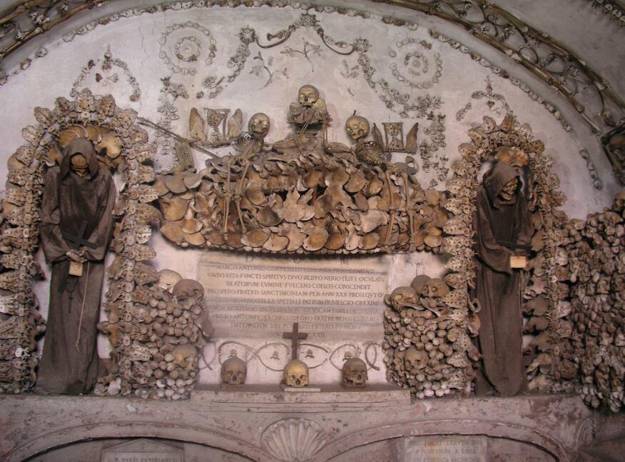 Capuchin Crypt, Rome.