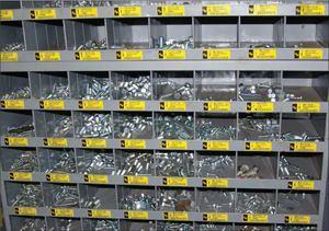 Fastener vendors will manage inventories.