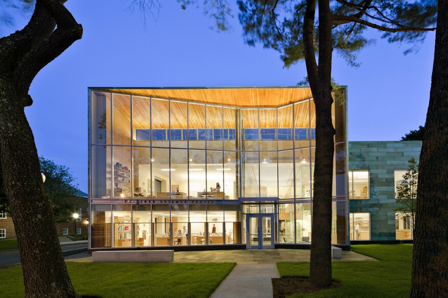 Milton Academy Pritzker Science Center, by William Rawn Associates, Architects