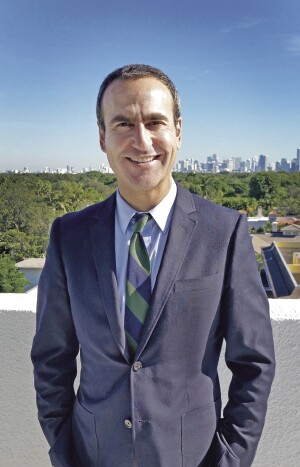 Matthew Rieger, president and CEO of Housing Trust Group