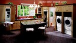 The Whirlpool Family Studio transforms the laundry room into an inviting and efficient work space.