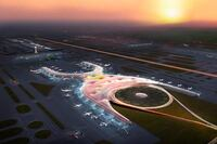 Foster + Partners and FR-EE Fernando Romero Win Mexico City Airport Competition