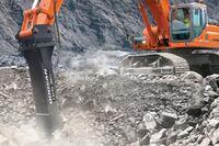 Doosan Infracore Construction Equipment America + Hydraulic Breakers