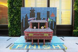 Constructed Goods: A Glimpse at Canstruction Boston 2015