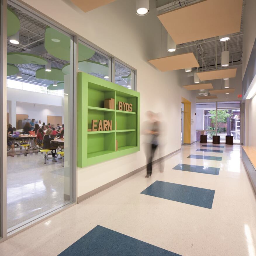 Beth Yeshurun Day School Renovation, Houston    Kirksey Architecture, Houston