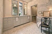 Elegant Marble Bath Remodel Shines