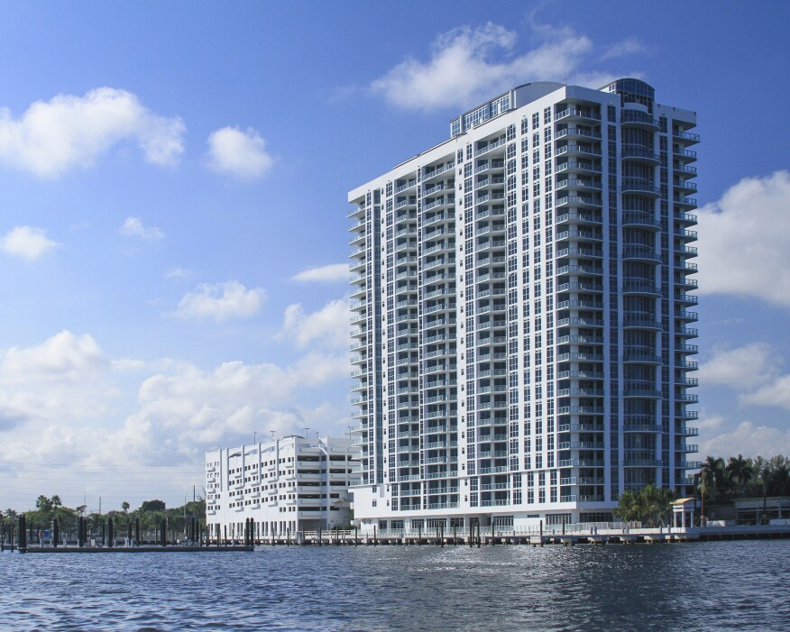 North Tower, condominium, oceanfront property, marina, boat slips