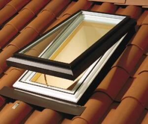 SEVEN UP: The Series 780 skylight has an insulating vinyl sub-frame for greater energy  efficiency and is available as a fixed, manually operable, or motorized operable  unit with a rain sensor for automatic closing. Created to drain moisture, the  product's design prevents air and water infiltration, the company  says. It comes with energy-efficient low-E glass. Milgard. 800-645-4273. www.milgard.com. Circle. no. 112.