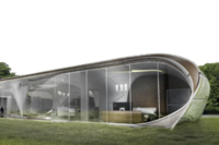 """Curve Appeal"" Will Be the World's First Freeform 3D-Printed House"