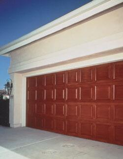 New garage door products remodeling parking lots and for Composite garage doors that look like wood