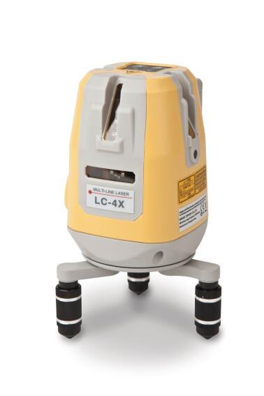Topcon LC-4X Cross-Line Laser