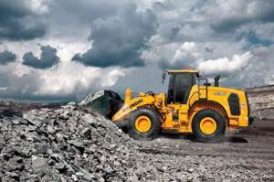 The new Hyundai HL900 series Tier 4 Final-compliant wheel loaders, designed for maximum performance, productivity and efficiency, deliver as much as 5-percent greater productivity and 10-percent lower fuel consumption than the previous 9A series loaders.