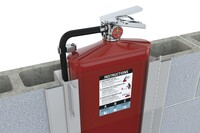 The World's Thinnest Fire Extinguisher