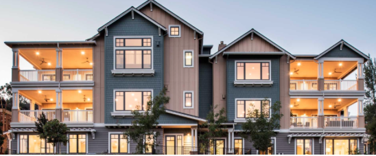 """New Home won """"Community of the Year"""" for its Woodbury neighborhood in downtown Lafayette, CA."""