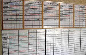 Business: Effective Low-Tech Scheduling