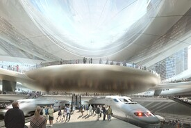 SOM Proposal for Penn Station and Madison Square Garden